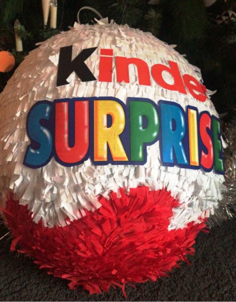 Pinata Kinder Surprise